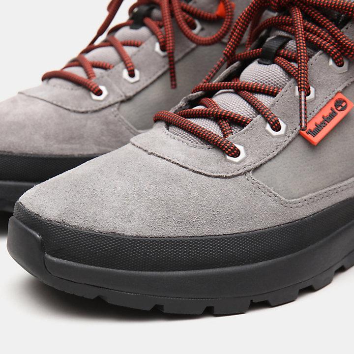 Bota de Montaña de caña baja Field Trekker para Hombre en gris-