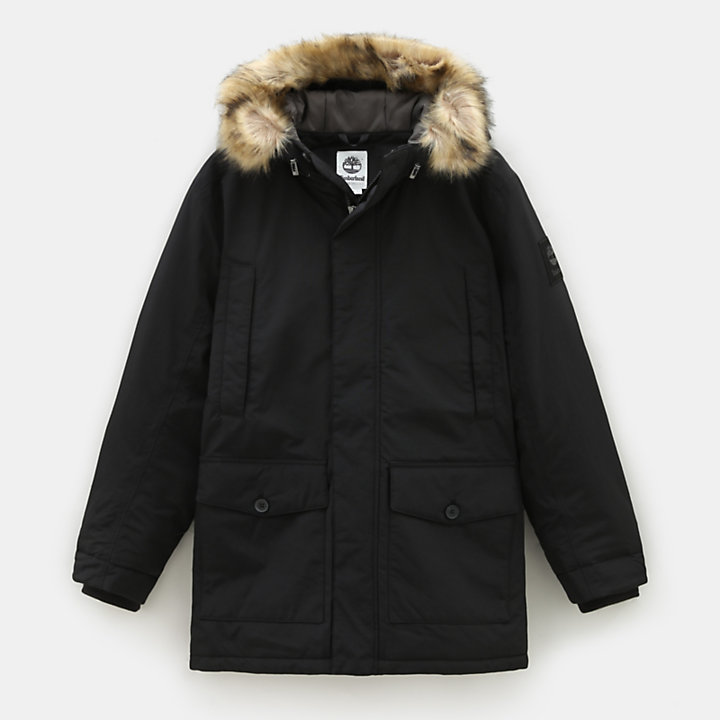 Boundary Peak Parka in Black-