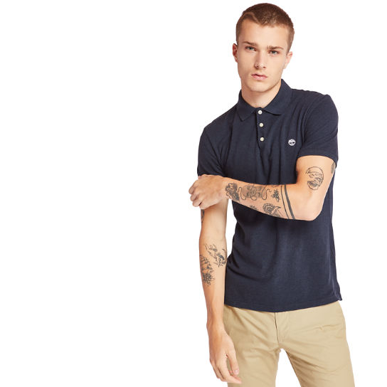 Merrymeeting River Polo Shirt for Men in Navy | Timberland