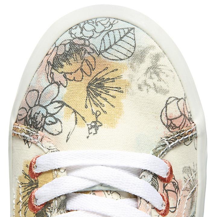 Baskets Newport Bay pour femme à motif floral-