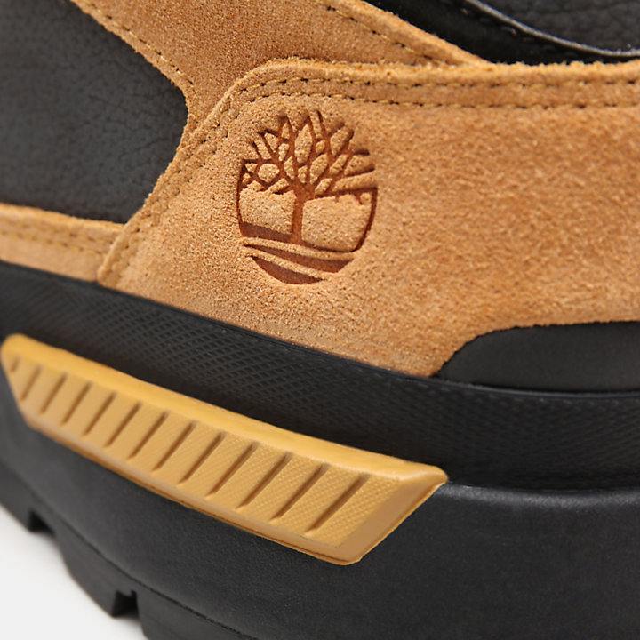Field Trekker Low Hiking Boot for Men in Yellow-