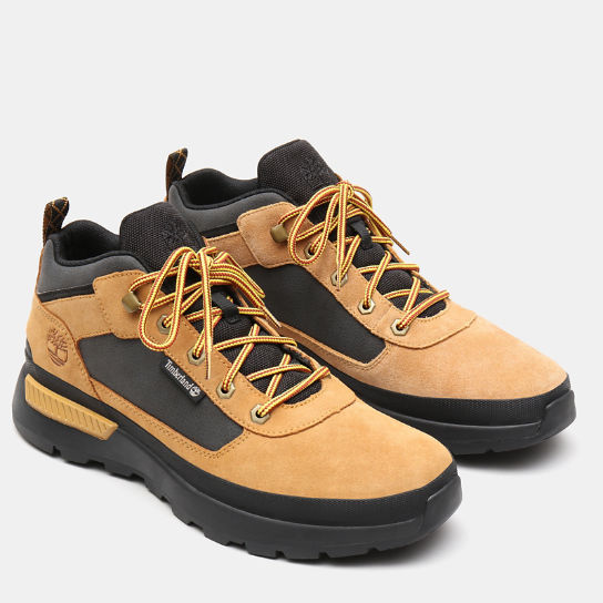 Field Trekker Low Hiking Boot for Men in Yellow | Timberland