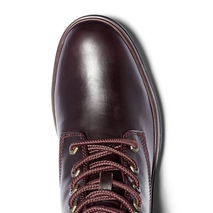 Nolita Sky Lace-up Ankle Boot for Women in Burgundy-