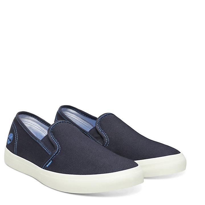 Newport Bay Slip-On Schuh für Damen in Marineblau-
