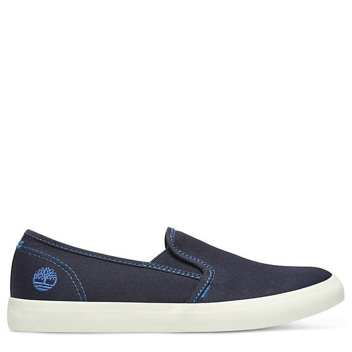 Newport Bay Slip-On Shoe for Women in Navy-