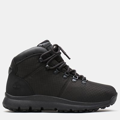 World+Hiker+Fabric+Hiker+for+Men+in+Black
