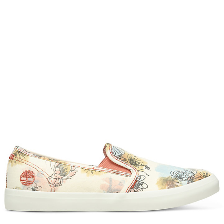 Newport Bay Slip-On Schuhe für Damen in Geblümt-
