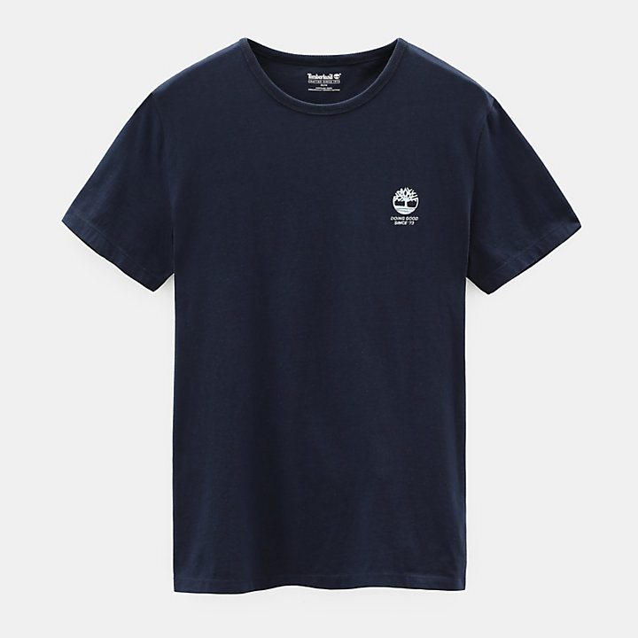 Nature Needs Heroes™ T-shirt for Men in Navy-