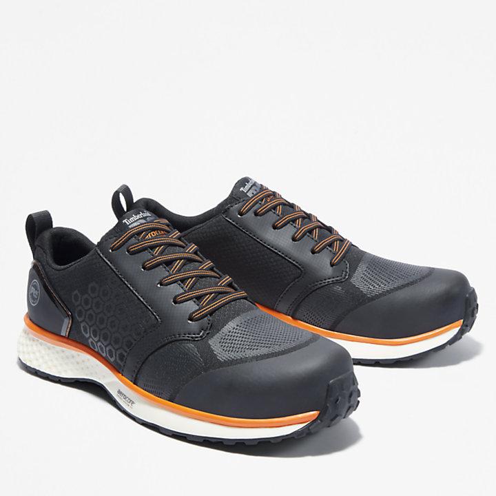Timberland PRO® Reaxion Work Shoe for Men in Black/Orange-