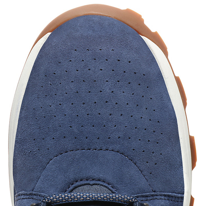 Oxford da Uomo Brooklyn Lace in blu marino-