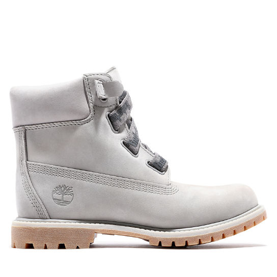 Premium 6 Inch Convenience Boot for Women in Grey | Timberland