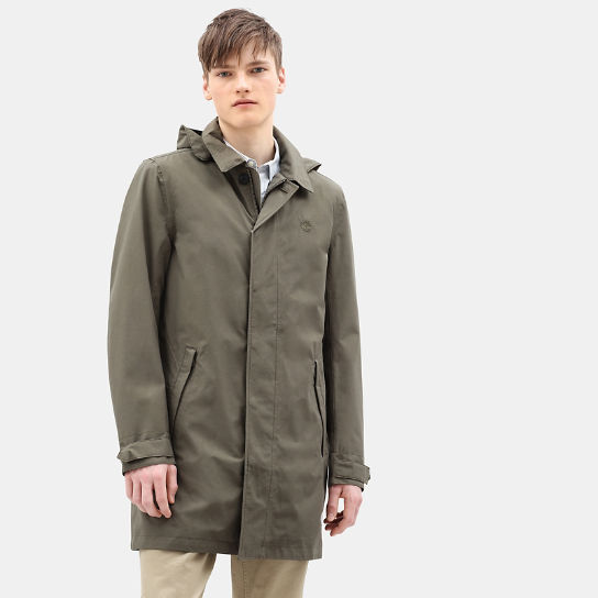 Doubletop Mountain 3 in1 Raincoat for Men in Green | Timberland