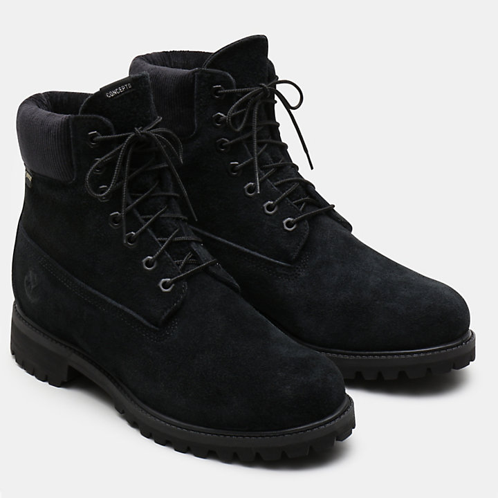 Concepts x Timberland 6 Inch Boot voor Heren in zwart-