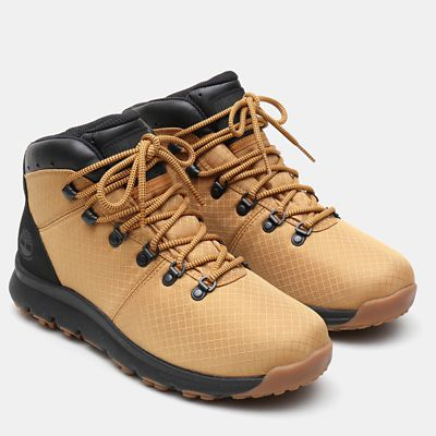 World+Hiker+Fabric+Hiker+voor+Heren+in+geel