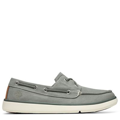 Gateway+Pier+Boat+Shoe+for+Men+in+Grey