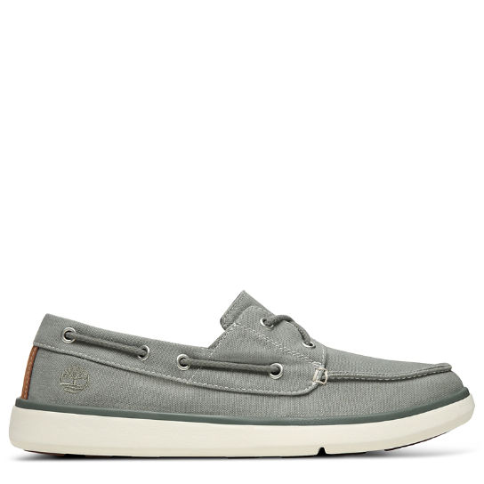 Gateway Pier Boat Shoe for Men in Grey | Timberland