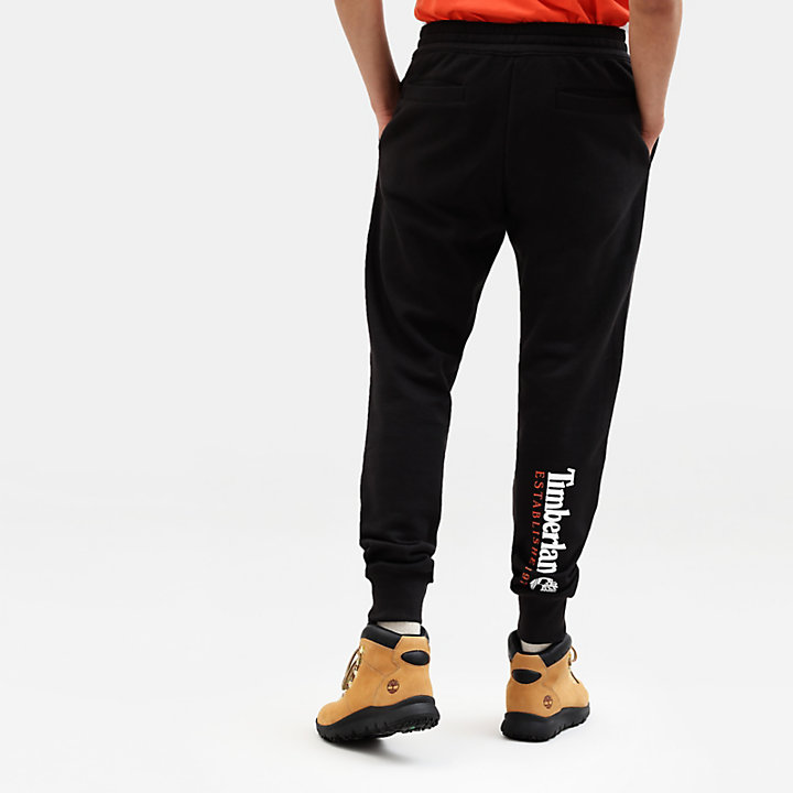 Core 1973 Tracksuit Bottoms for Men in Black-