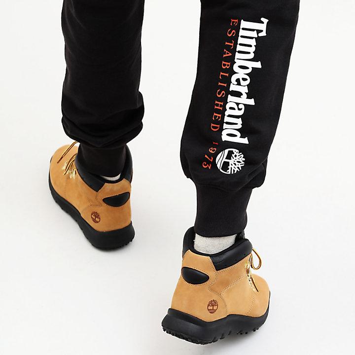 Pantalon de survêtement Core 1973 pour homme en noir-