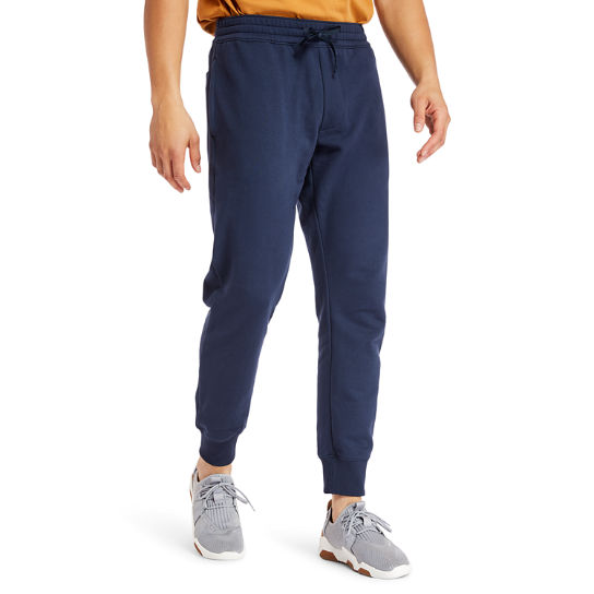 Core 1973 Tracksuit Bottoms for Men in Navy | Timberland