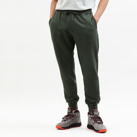 Core 1973 Tracksuit Bottoms for Men in Green | Timberland