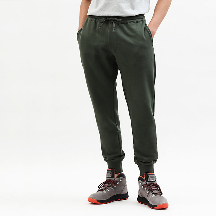 Core 1973 Tracksuit Bottoms for Men in Green-