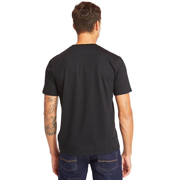 Mink Brook Timberland® T-shirt voor Heren in zwart-