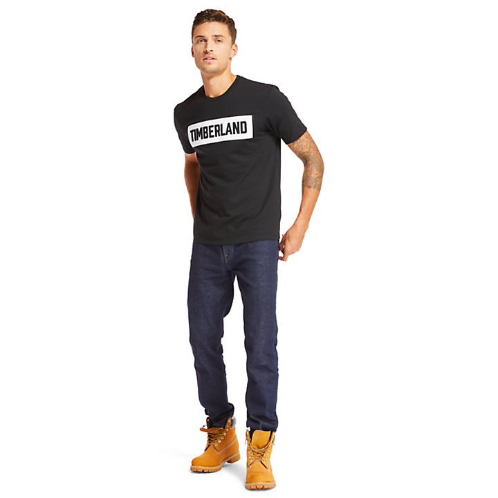 Mink Brook Timberland® T-Shirt for Men in Black-