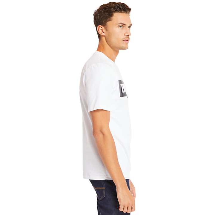 Mink Brook Timberland® T-Shirt for Men in White-