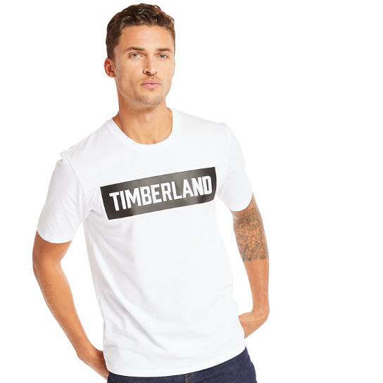 Mink Brook Timberland® T-Shirt for Men in White | Timberland