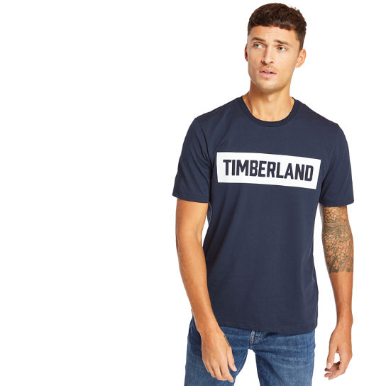 Mink Brook Timberland® T-Shirt for Men in Navy | Timberland