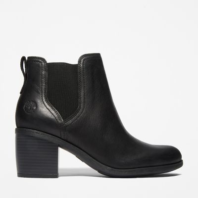 Brynlee+Park+Chelsea+Boot+for+Women+in+Black
