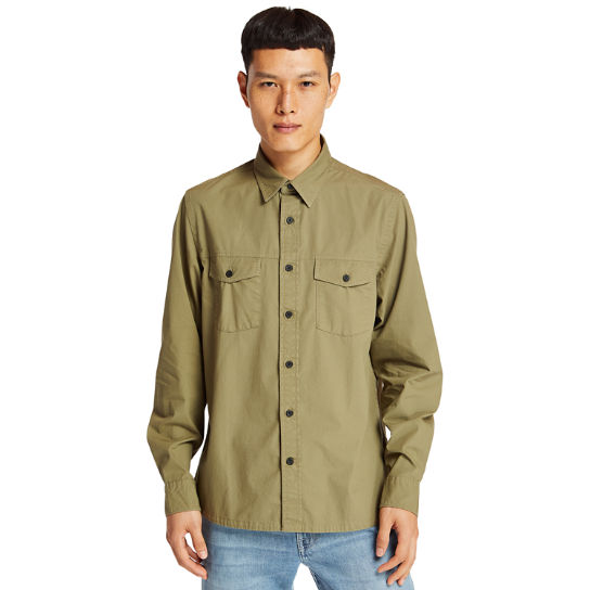 Saco River Cargo Shirt for Men in Green | Timberland