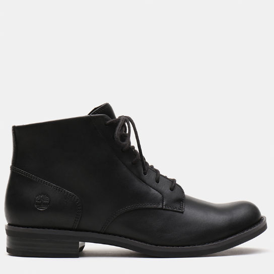 Magby Lace Up Boot for Women in Black | Timberland