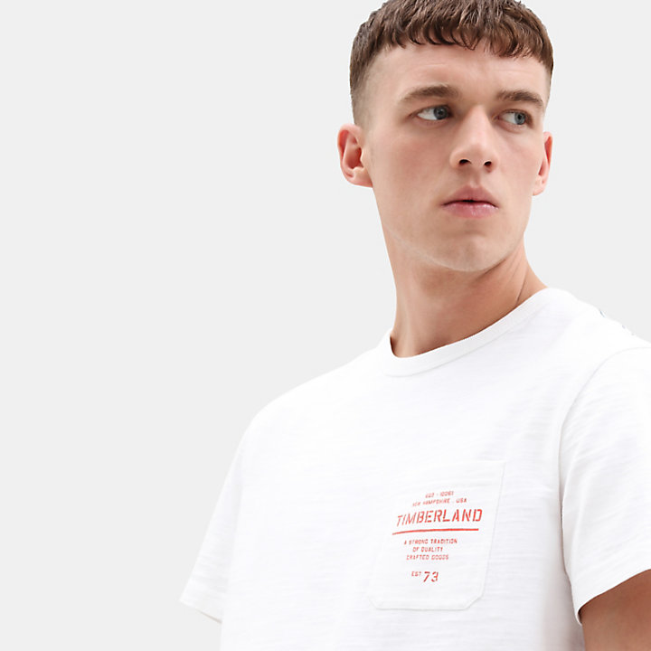 Workwear T-Shirt for Men in White-