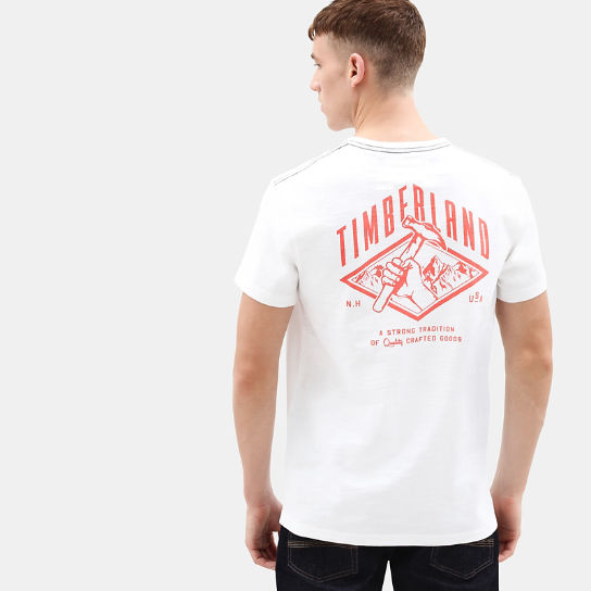Workwear T-shirt voor Heren in wit | Timberland