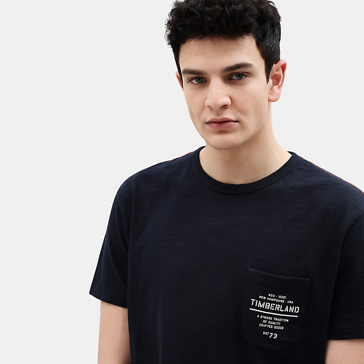 Workwear T-Shirt for Men in Navy-