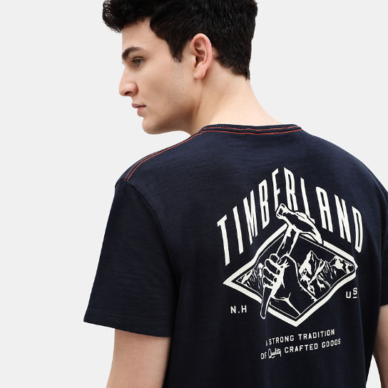 Workwear T-Shirt für Herren in Marineblau | Timberland
