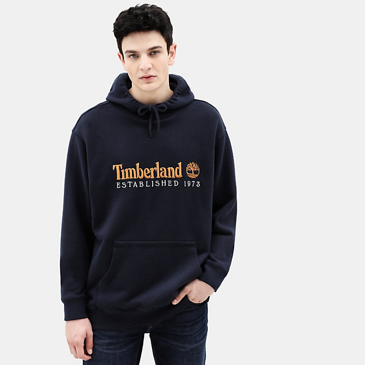 Hoodie for Men in Navy-