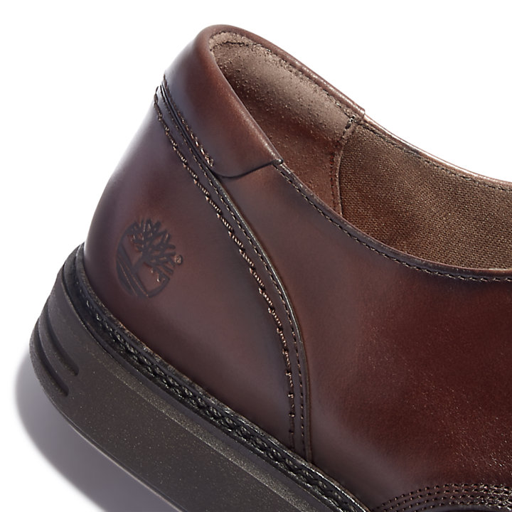 RR 4610 Oxford Shoe for Men in Dark Brown-