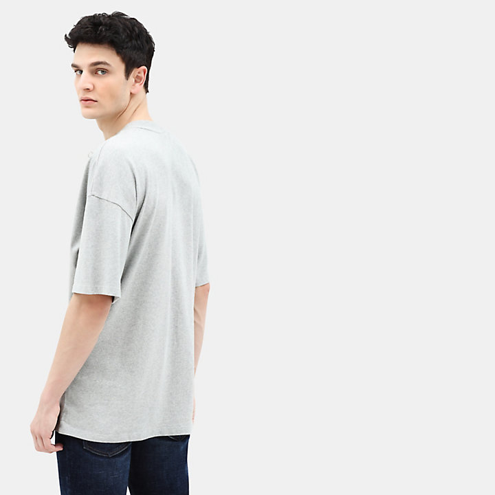 Archive T-Shirt for Men in Grey-