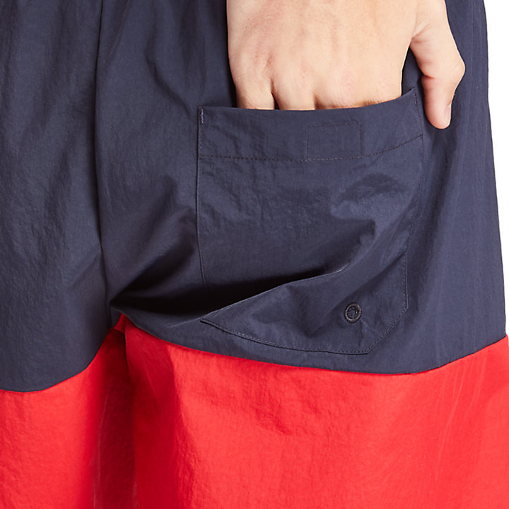 Sunapee Lake Swimming Shorts for Men in Navy-