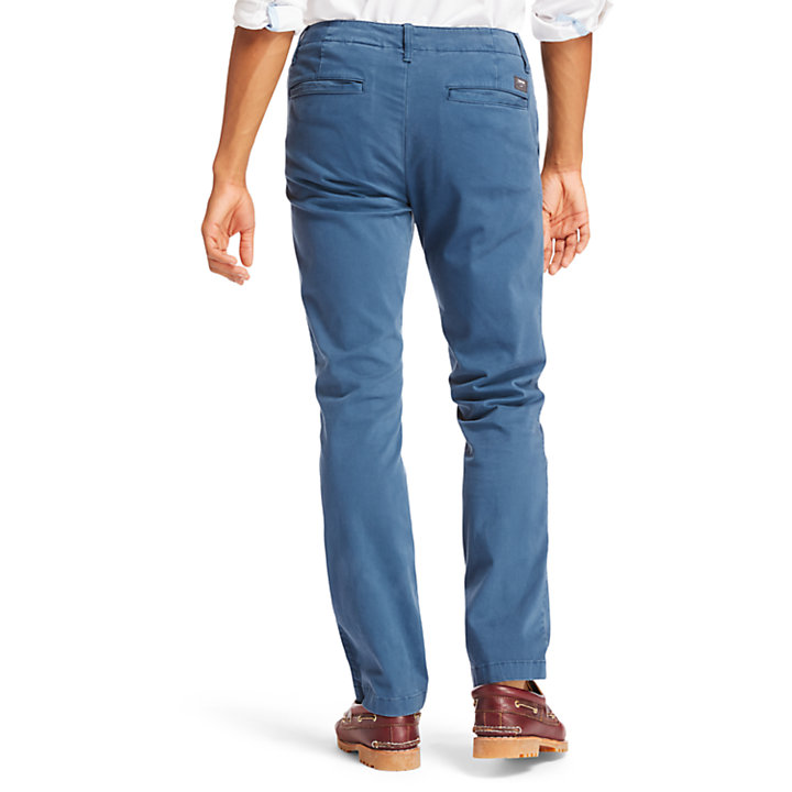 Chino ultra-stretch Squam Lake pour homme en indigo-