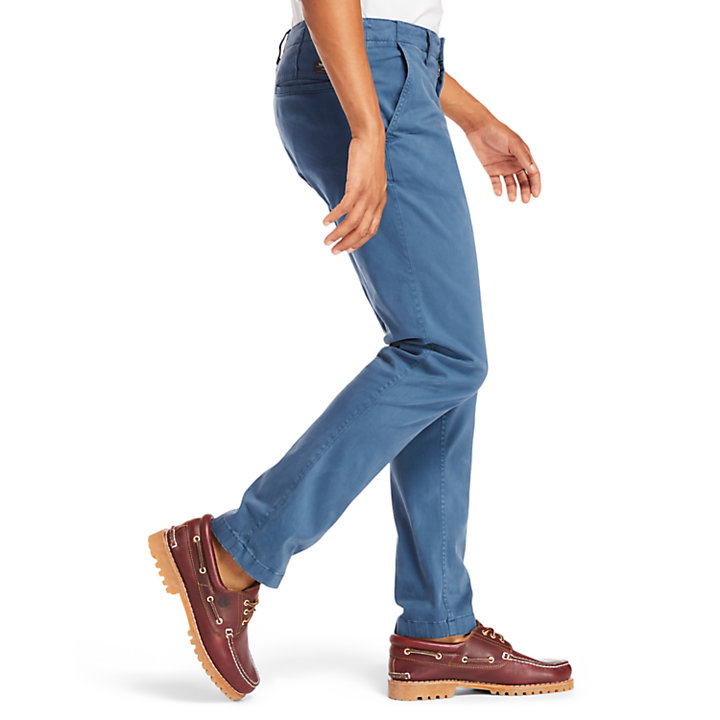Squam Lake Ultra Stretch-Chino für Herren in Indigo-