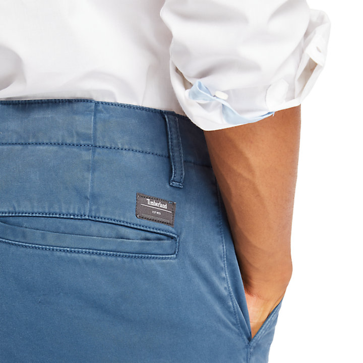 Pantaloni Chino da Uomo Ultra Elasticizzati Squam Lake in indaco-