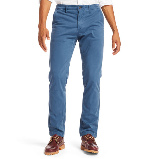 Chino ultra-stretch Squam Lake pour homme en indigo | Timberland