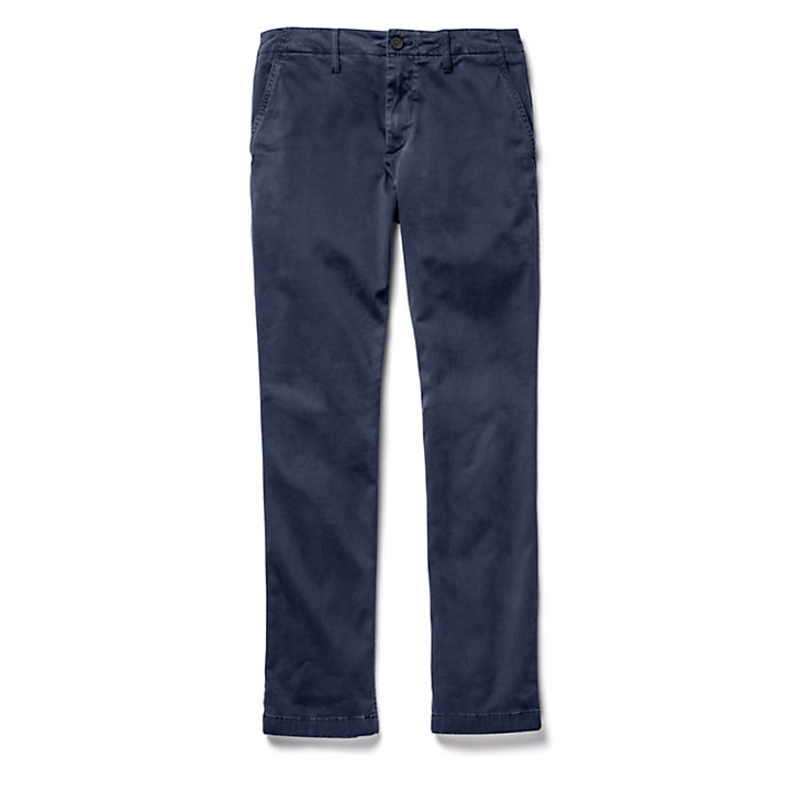 Squam Lake Ultra Stretch Chinos for Men in Navy-