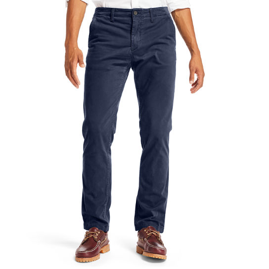 Squam Lake Ultra Stretch Chino voor Heren in marineblauw | Timberland