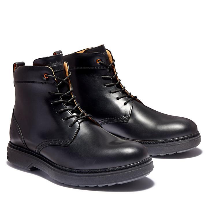 Bota RR 4610 con cordones para hombre en color negro-