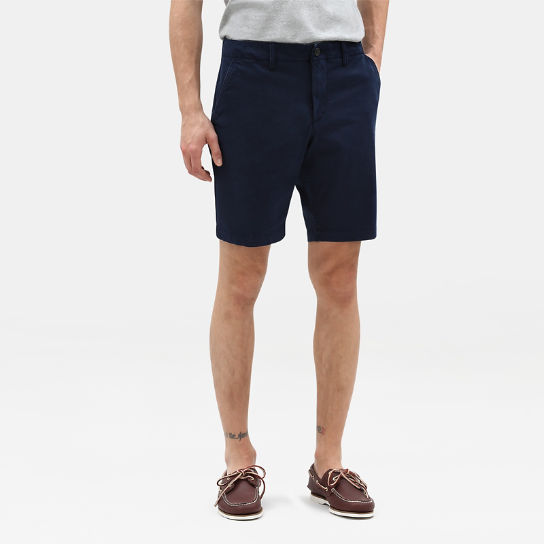 Shorts Chino da Uomo Squam Lake in blu marino | Timberland