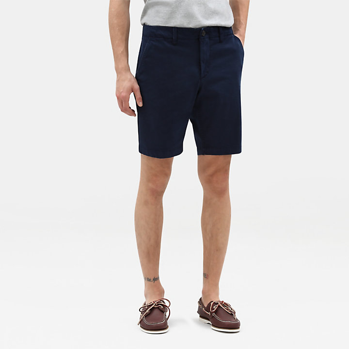 Squam Lake Chinoshorts für Herren in Marineblau-